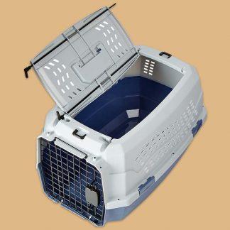 AmazonBasics - Cage de transport pour chat - 2 portes