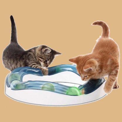 Circuit de jeu pour chat - Fabricant : Catit