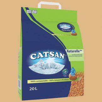 Catsan - Naturelle Plus - Litière pour chat - 20 L