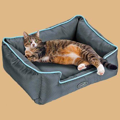 Panier lit pour chat - Marque : Pecute
