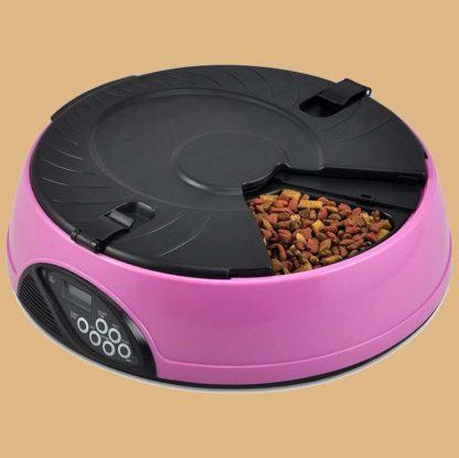 Distributeur automatique de croquettes pour chat - Petcute - 6 repas