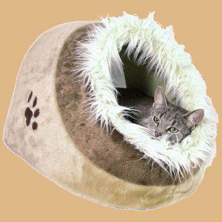 Trixie - Abri Douillet Minou pour Chat - Dimensions : 41 × 30 × 50 cm