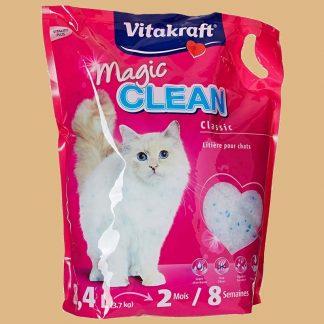 Vitakraft - Litière Magic Clean pour chat - 8 semaines - Contenu : 8,4 litres