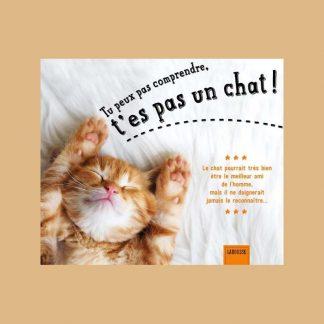 Tu peux pas comprendre, t'es pas un chat ! par Alice Zabée et Aurélie Lemoine