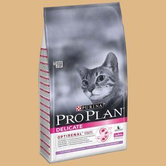 Croquettes Pro Plan Delicate pour chat adulte riche en Dinde - Marque : Purina - 10 kg