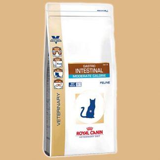 Croquettes vétérinaires pour chat Gastro intestinal Moderate calorie GIM 35 - Quantité : 2 kg - Marque : Royal Canin