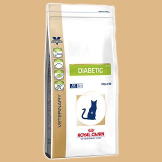 Croquettes Veterinary Diet Diabetic DS 46 pour chat - Marque : Royal Canin