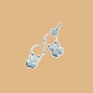 Porte-clefs en forme de chat de la marque Troika