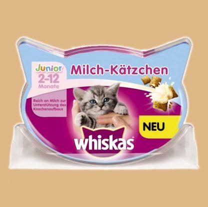Friandises Whiskas au lait pour chaton entre 2 et 12 mois