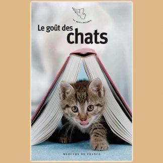 Le goût des chats aux éditions Mercure de France