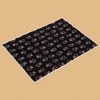 Vetbed Isobed SL - Tapis pour chat noir à pattes grises