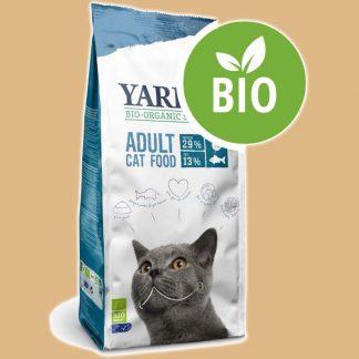 Croquettes Bio pour chat adulte au poisson - 10 kg - Marque : Yarrah