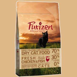 Croquettes sans céréales pour chat - Sac de 2,5 kg - Marque : Purizon