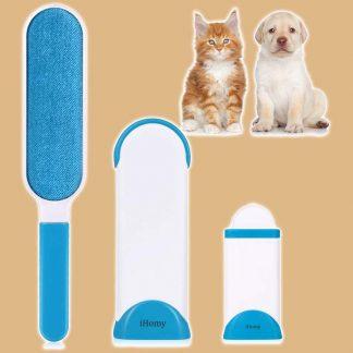 Brosse anti-poils pour chat