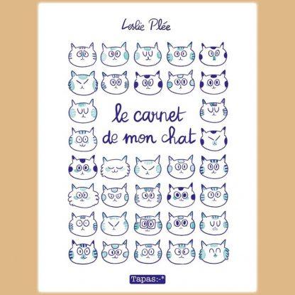Livre : Le carnet de mon chat