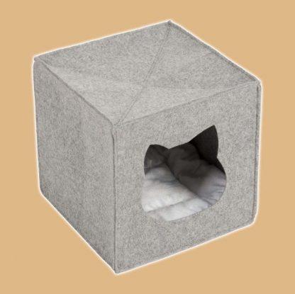 Abri en feutre pour chat spécial étagères