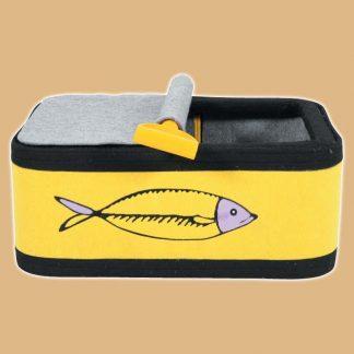 Boîte à sardine pour chat