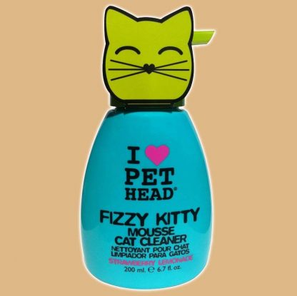 Shampooing Fizzy Kitty mousse pour chat
