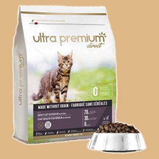 Ultra Premium Direct - Croquettes sans céréales pour chat d'extérieur et chatons