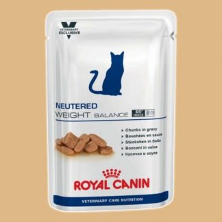 Bouchées en sauce pour chats - Royal Canin - Neutered Weight Balance