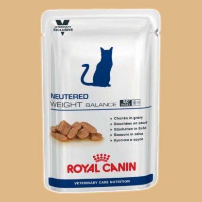 Bouchées en sauce pour chats - Royal Canin - Neutered Weight Balance