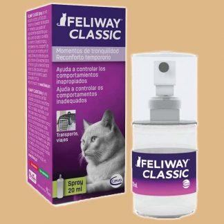 Spray de voyage anti-stress pour chat
