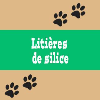 Litières de silice pour chat