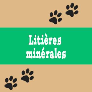 Litières minérales pour chat
