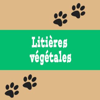 Litières végétales pour chat