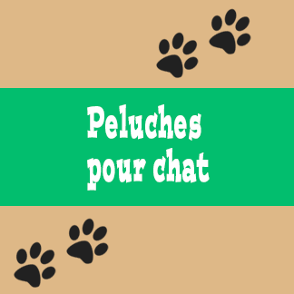 Peluches pour chat