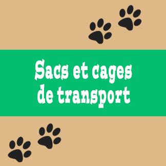 Sacs et cages de transport pour chat