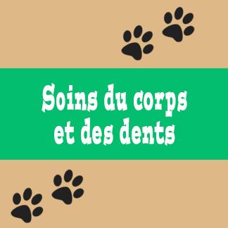 Soins du corps et des dents pour chat