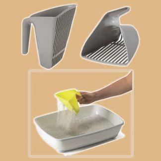 Pelle à litière en plastique