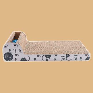Griffoir en carton pour chat