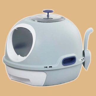 Maison de toilette Pawhut pour chat