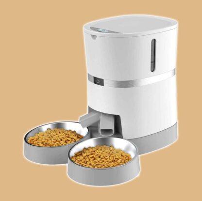 Distributeur automatique de croquettes pour chat WellToBe