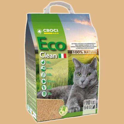 Litière écologique et agglomérante pour chat